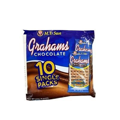 MY San Grahams Chocolate 10pack