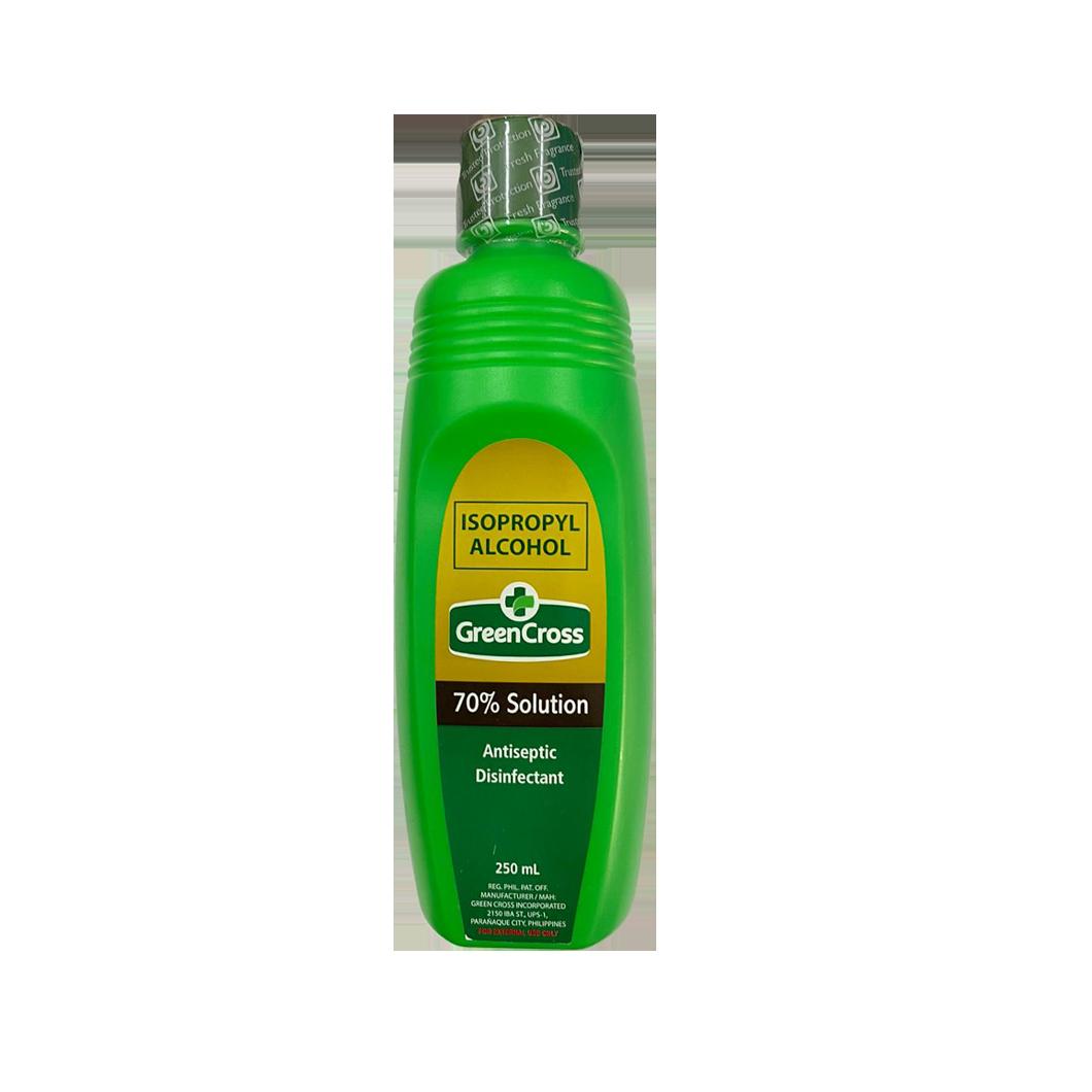Green Cross Alcohol 70% 250ml