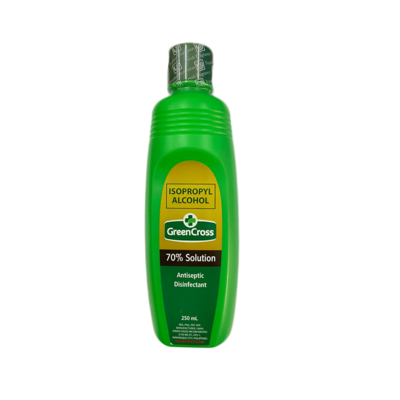 Green Cross Alcohol 70% 250ml