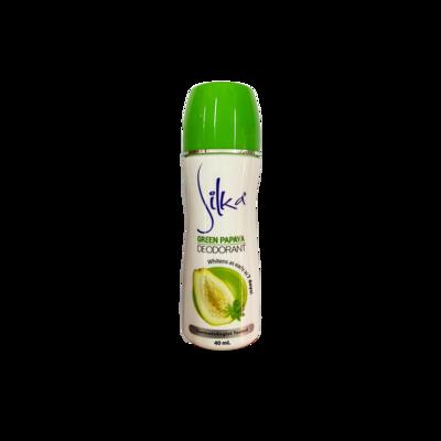Silka Deodorant Green Papaya 40ml