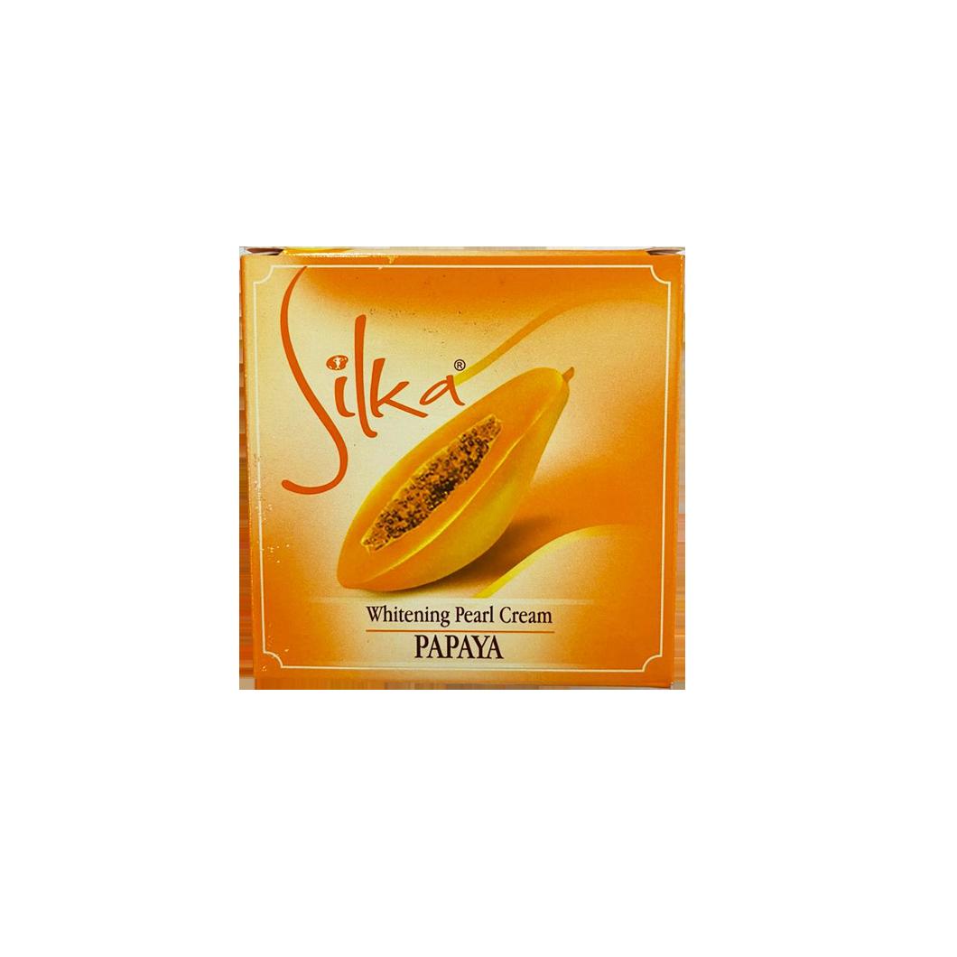 Silka Whitening Pearl Cream Papaya 6g