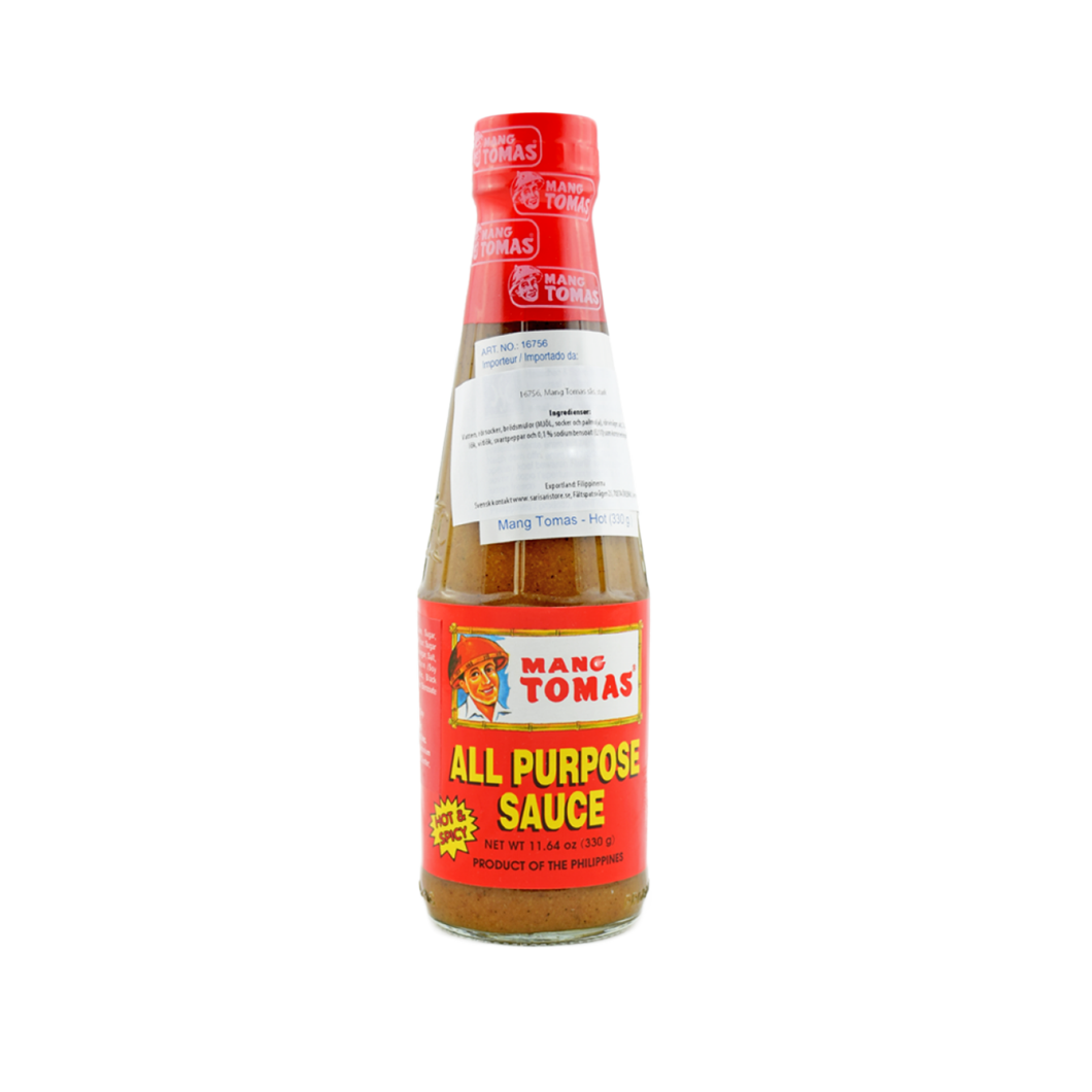 Mang Tomas All Purpose Sauce (Hot & Spicy) 330g