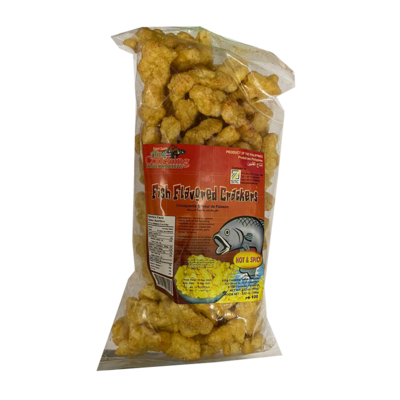 Aling Conching Fish Flavored Crackers Hot & Spicy Flavor 100g