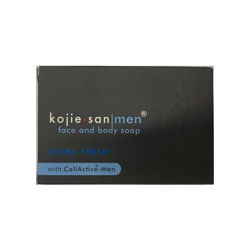 Kojie San Men Face & Body Soap Extra Fresh