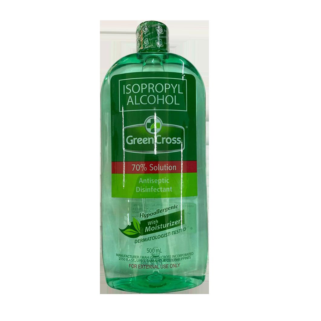 Green Cross Isopropyl Alcohol 70% 500ml