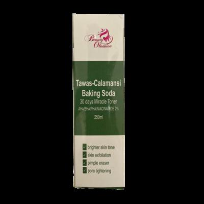 Beauty Obsession Tawas-Calamansi Baking Soda Miracle Toner 250ml