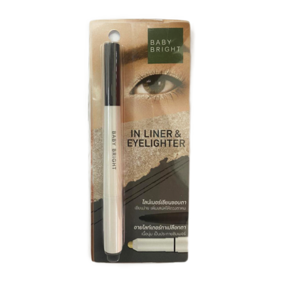 Baby Bright In Liner & Eyelighter White and Black