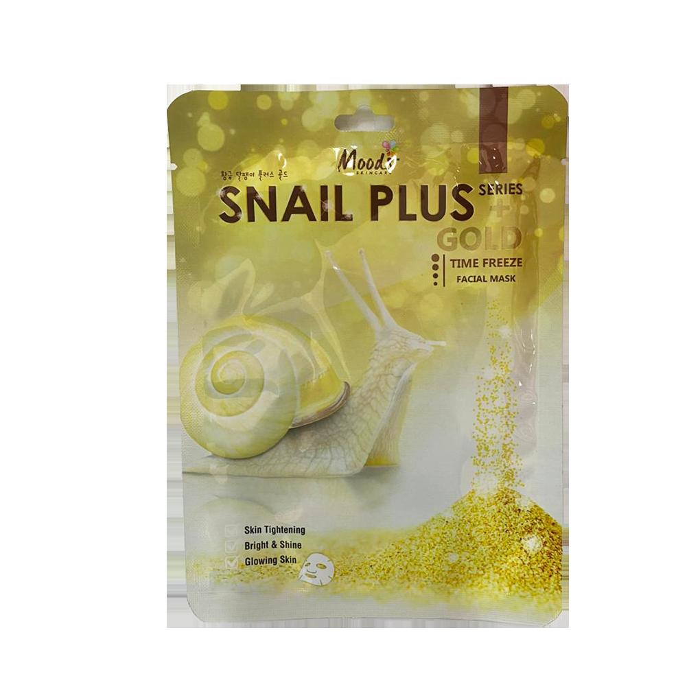 Moods Snail Plus Gold Time Freeze Face Mask