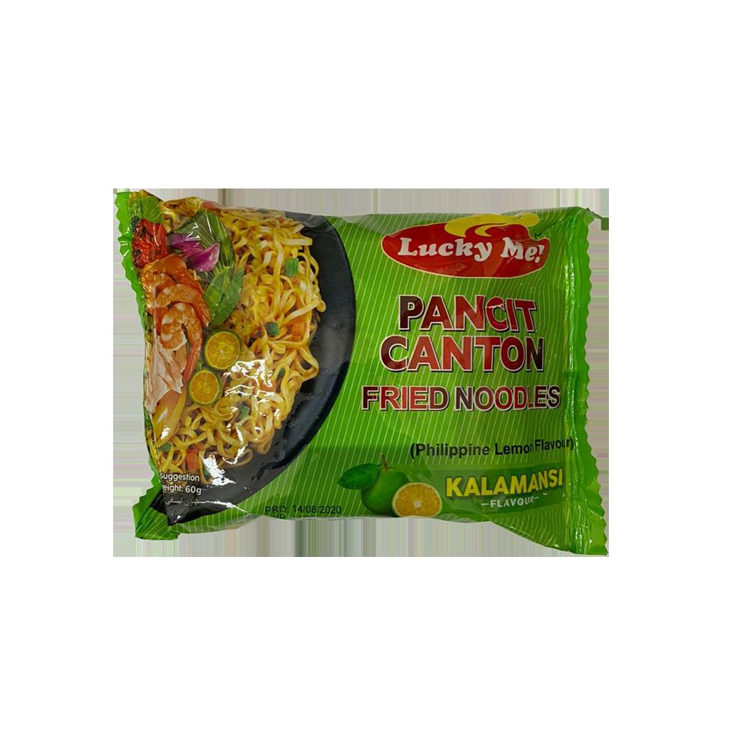 Lucky Me Instant Pancit Canton Calamansi Flavour 60g