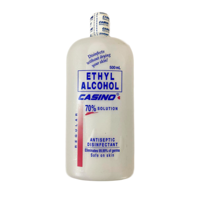 Casino Ethyl Alcohol 500ml 70% Solution