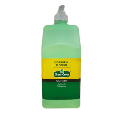Alcohol Green Cross 70% 1L