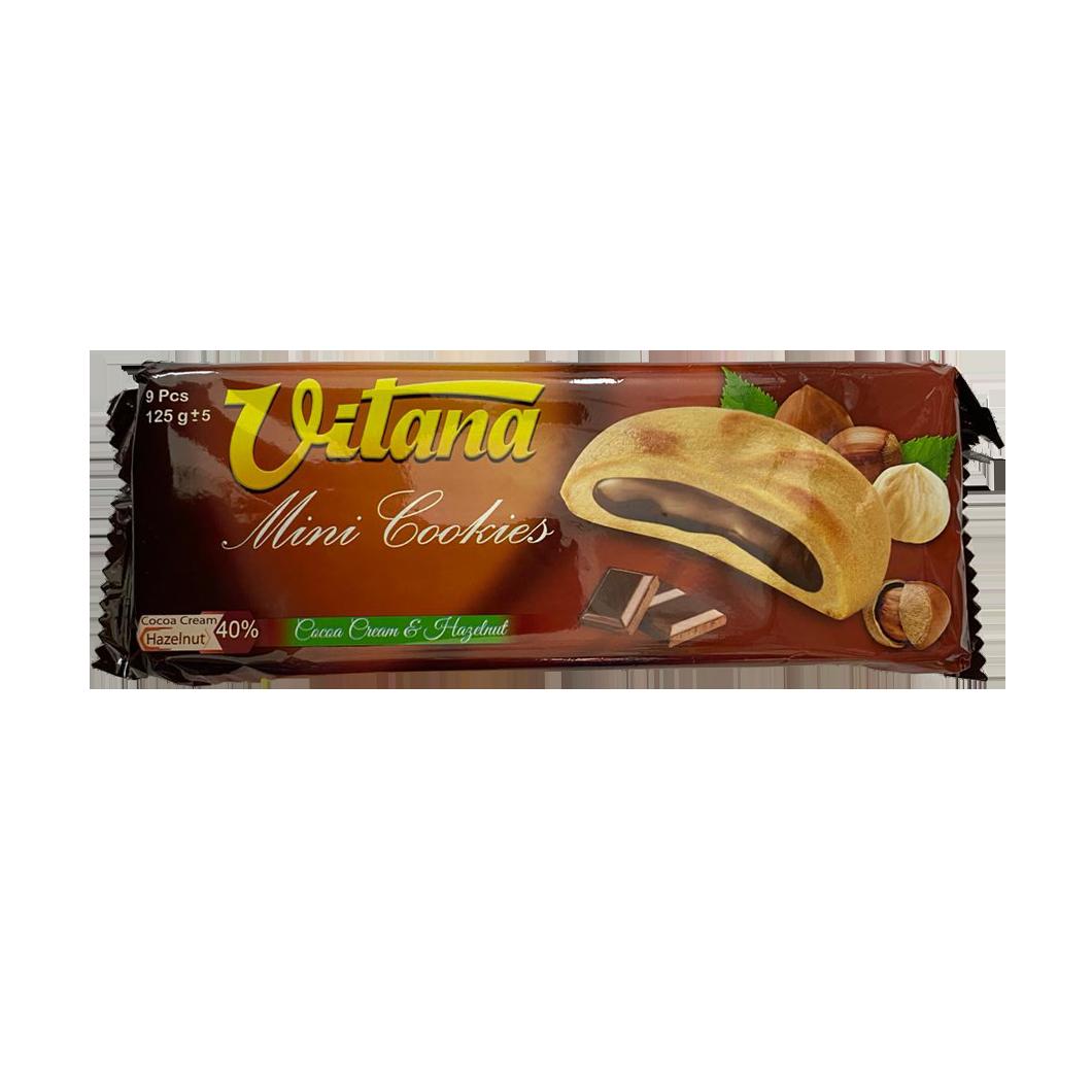 Vitana Mini Cookies CocoaCream & Hazelnut 9pc