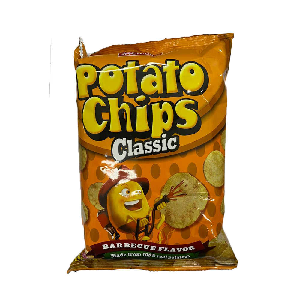 JNJ Potato Chips Classic BBQ Flavor