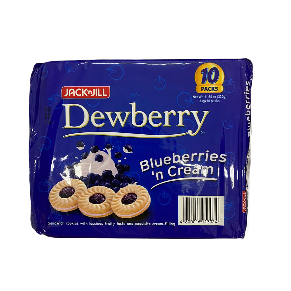JNJ Dewberry Blueberries n' Cream 10packs
