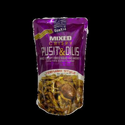 Seakid Mixed Crispy Pusit & Dilis 40g