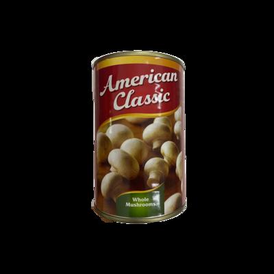 American Classic Whole Mushrooms 400g