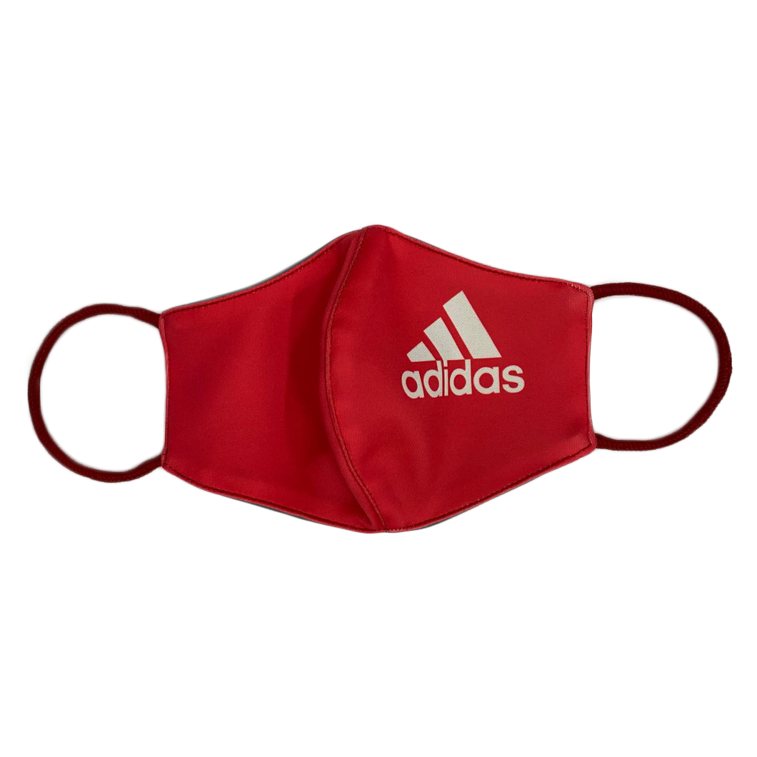 Cloth Facemask Adidas Red