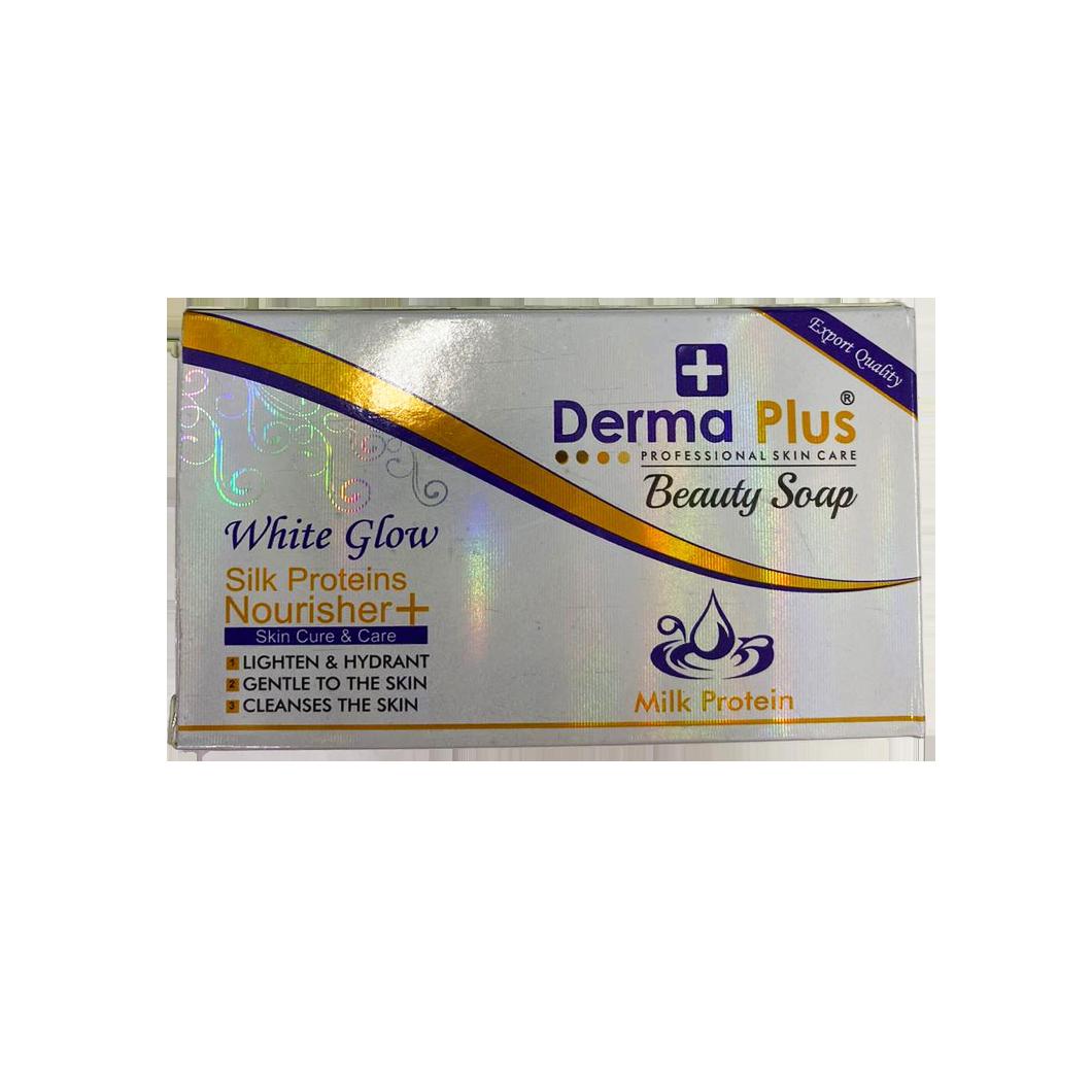 Derma Plus Beauty Soap White Glow Milk Protein
