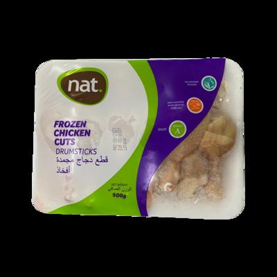 Nat Frozen Chicken Cuts Drumsticks 900g