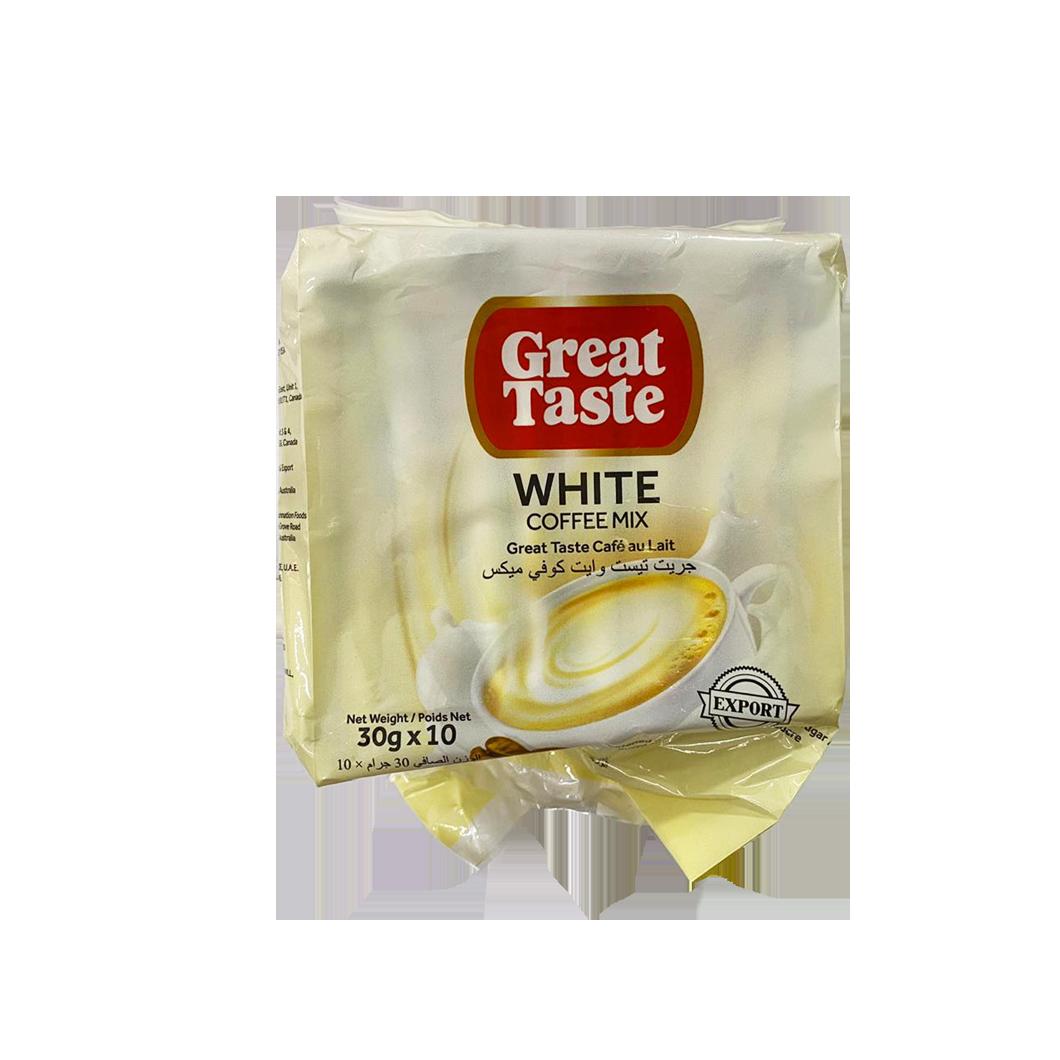 Great Taste White Coffee Mix - Cafe au Lait (10pc)