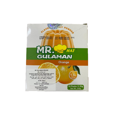 Mr Gulaman Box Orange (10pc)