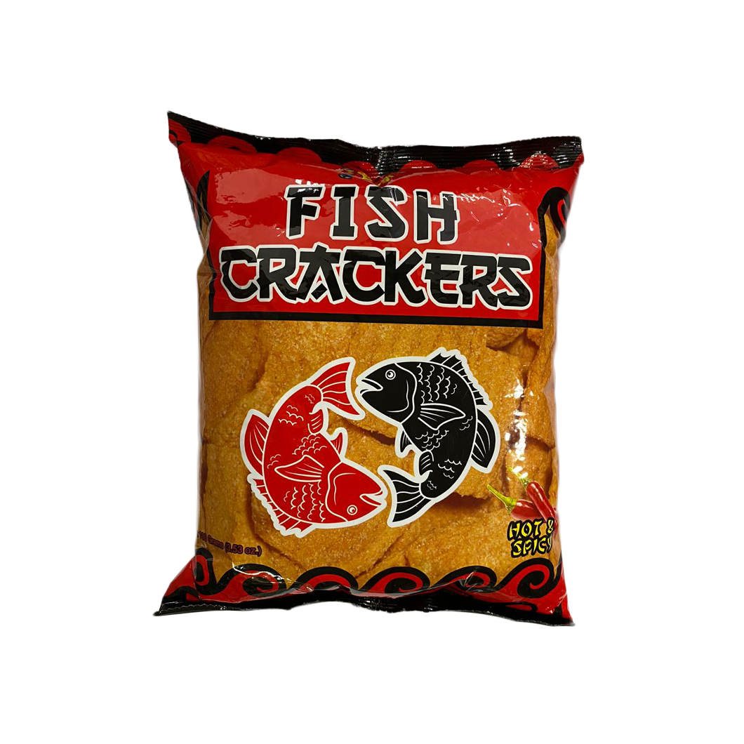 Chick Boy Fish Crackers Hot & Spicy Chips