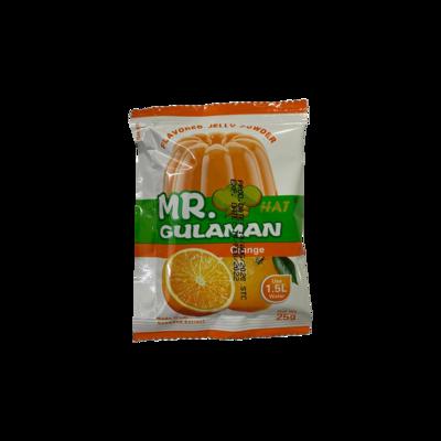 Mr Gulaman Orange (Flavored Jelly Flavor) per piece