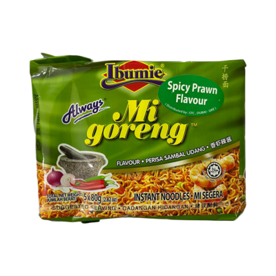 Ibumie Mi Goreng Spicy Prawn Flavour (5 pcs)