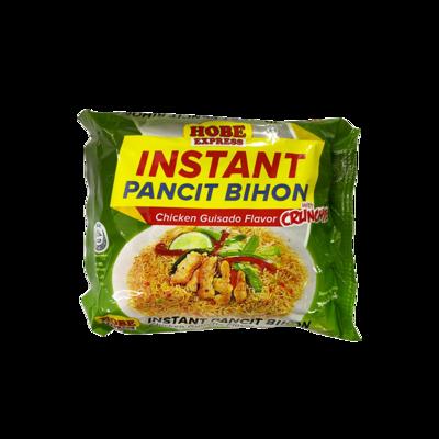 Hobe Express Instant Pancit Bihon Chicken Guisado with Crunches