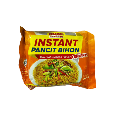 Hobe Express Instant Pancit Bihon Oriental Guisado with Crunches