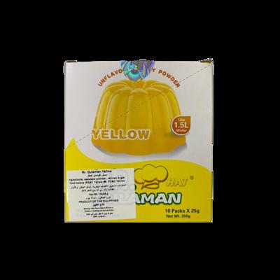 Mr Gulaman Box Yellow (10pc)