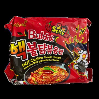 Samyang 2x Spicy Hot Chicken Flavor Ramen (Korean Noodles) (PC)