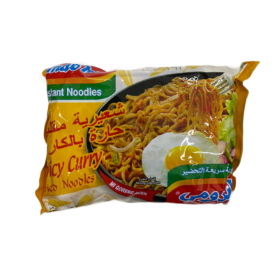 Indomie Spicy Curry Fried Noodles