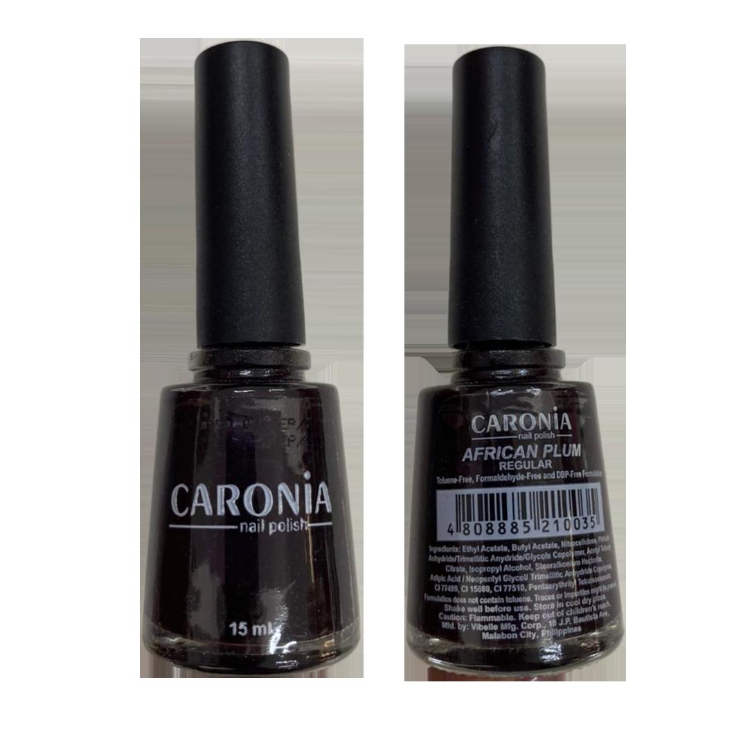 Caronia African Plum Nail Polish