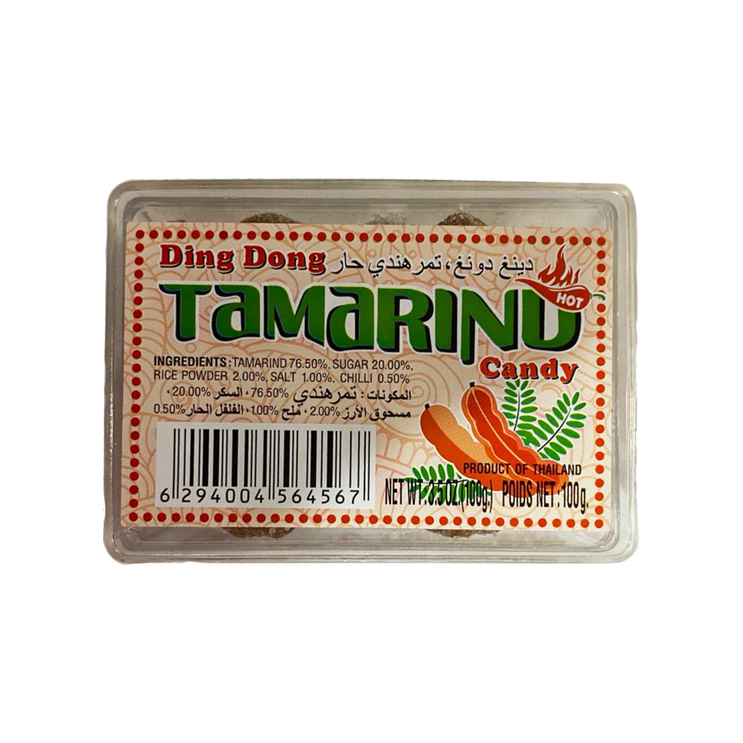 Ding Dong Tamarind Candy Hot 100g