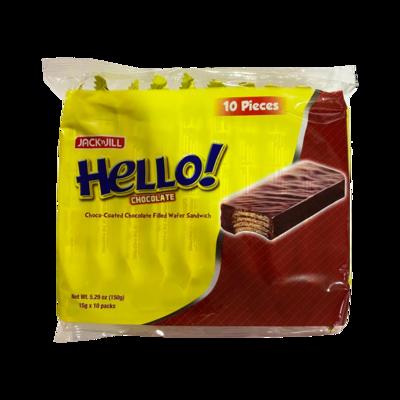 Jack n Jill Hello Chocolate Wafer 10pc