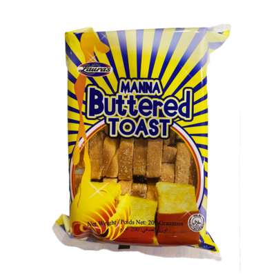 Laura's Manna Buttered Toast 200g
