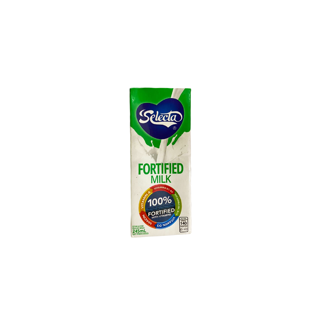 Selecta Fortofied Full Fat Milk 245ml