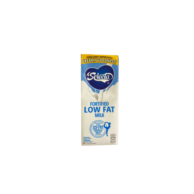 Selecta Fortofied Low Fat Milk 245ml