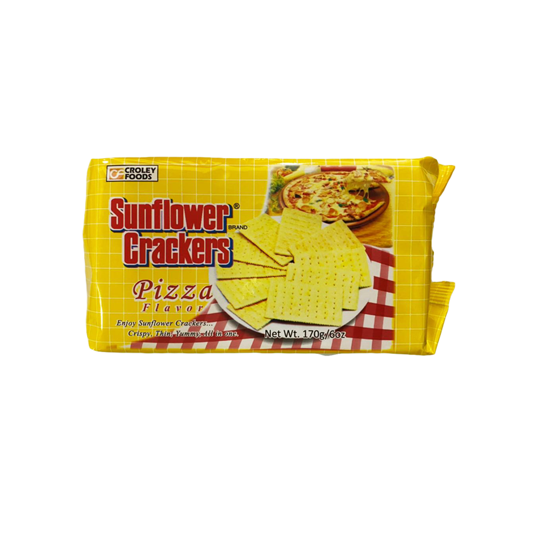 Croley Foods Sunflower Crackers Pizza Flavor 170g