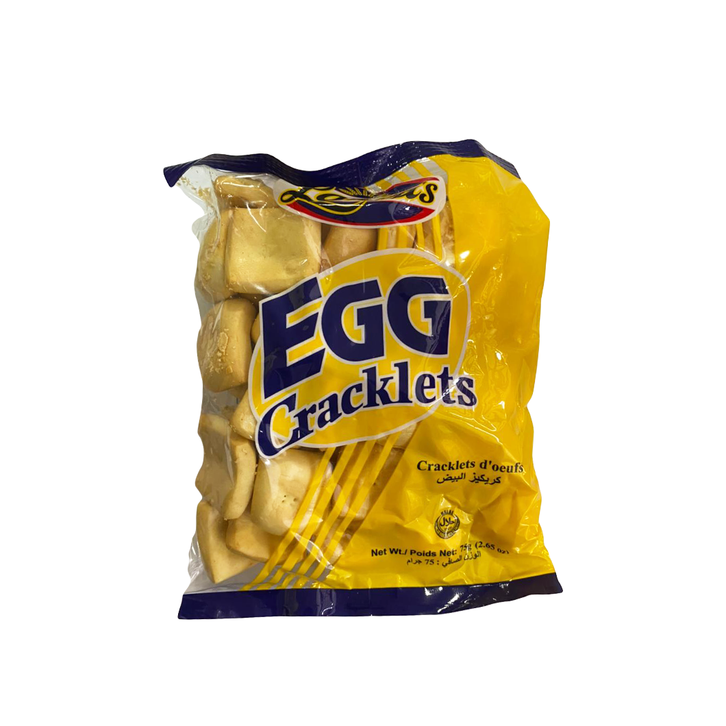 Lauras Egg Cracklet 75g