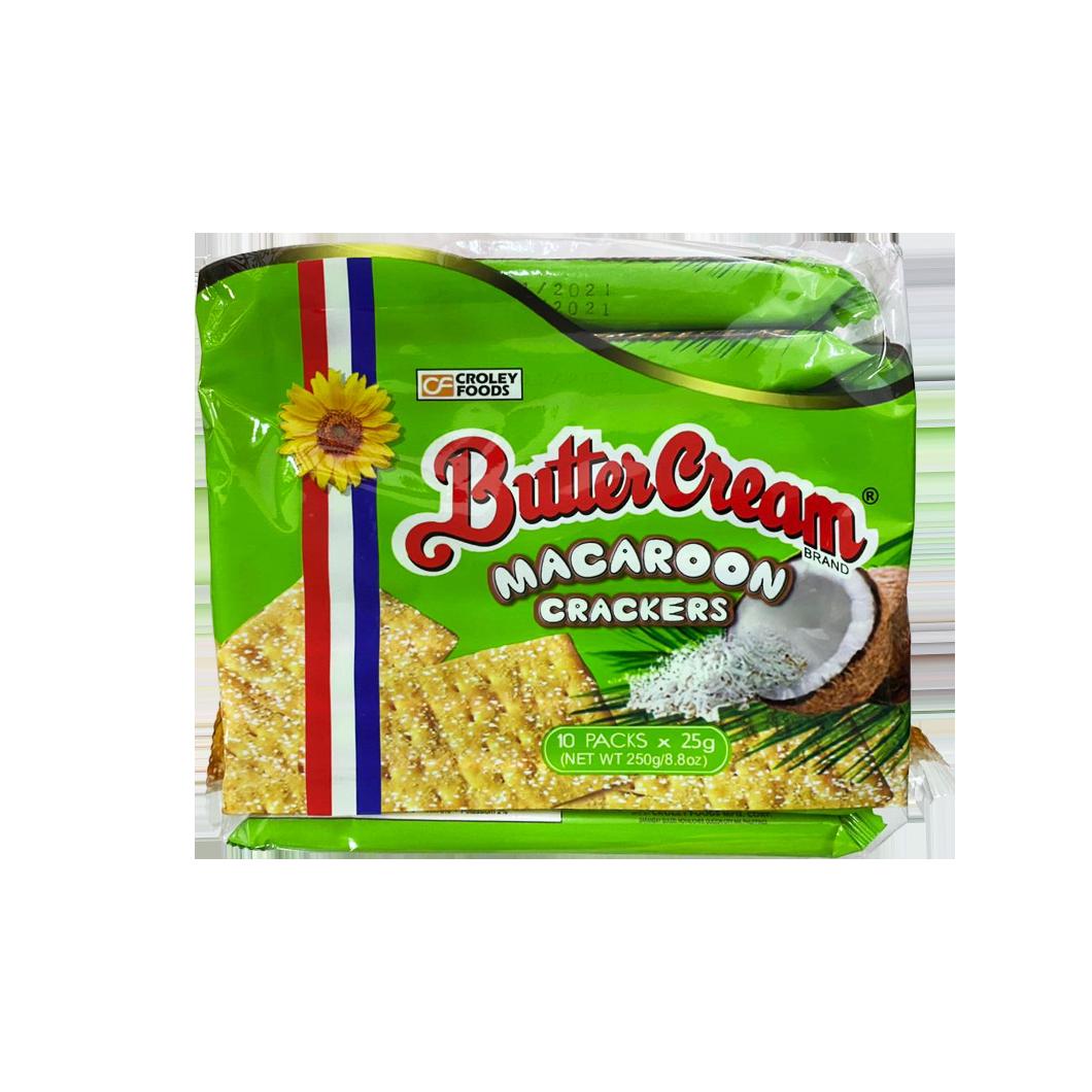 Buttercream Macaroon Crackers 10 Packs