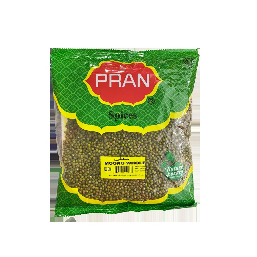 Pran Spices Moong Whole 700g (Monggo)