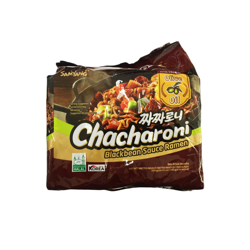 Samyang Chacharoni Blackbean Sauce Ramen Pack (5pc)
