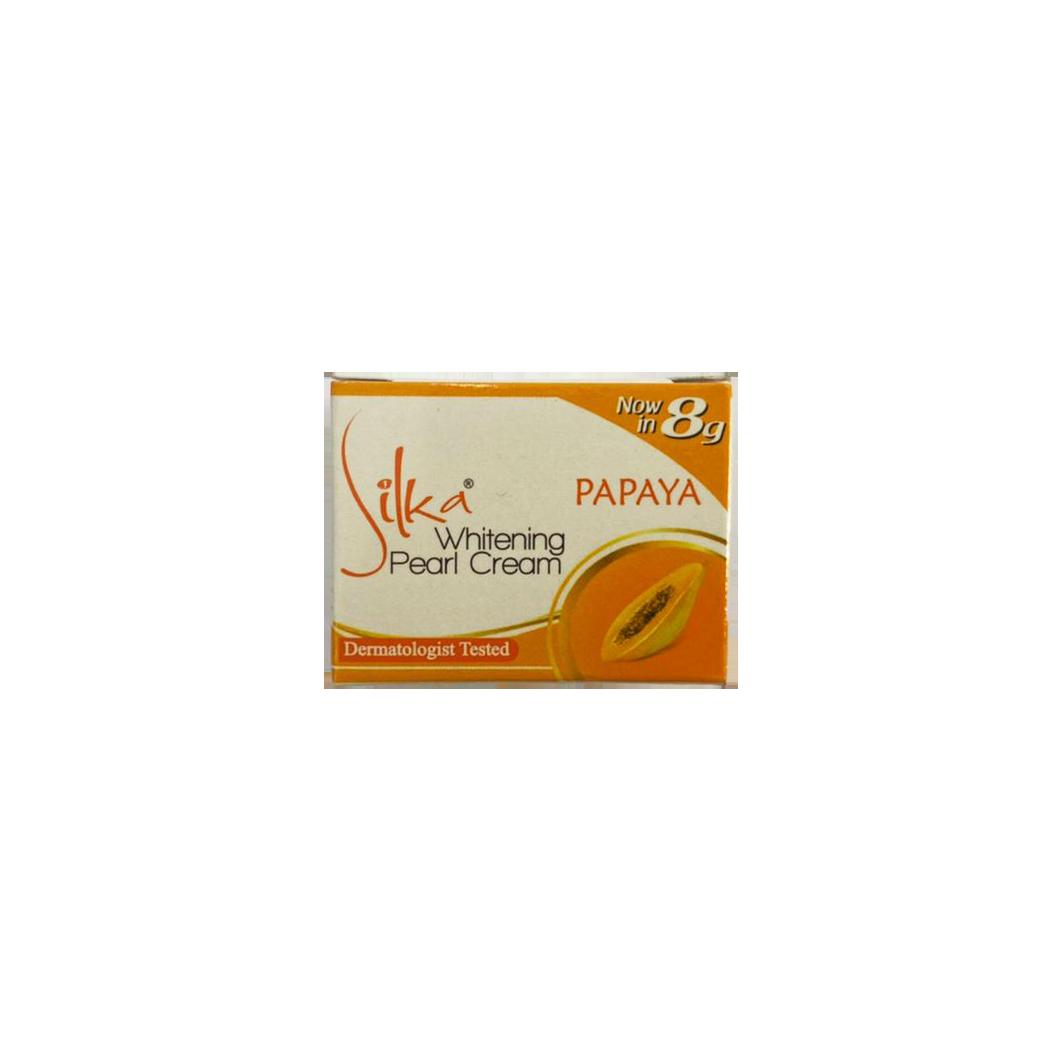 Silka Papaya Whitening Pearl Cream 8g