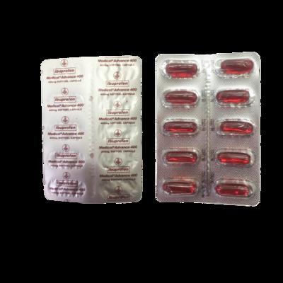 Ibuprofen Medicol Advance 400mg (selling per softgel capsule)