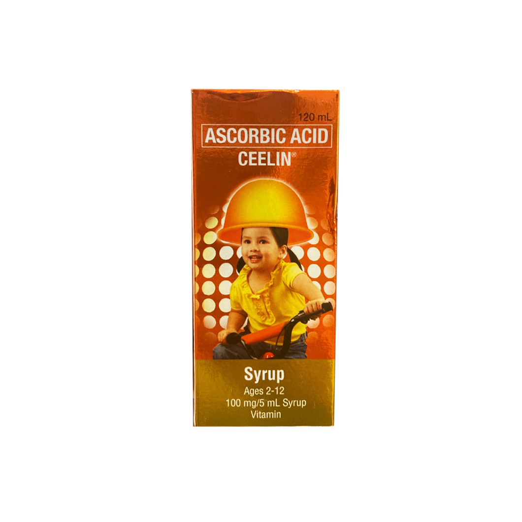 Ceelin Syrup Ascorbic Acid 120ml