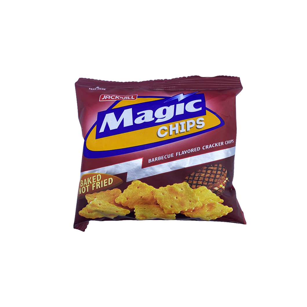 JNJ Magic Chips BBQ Cracker Chips (baked not fried) Small