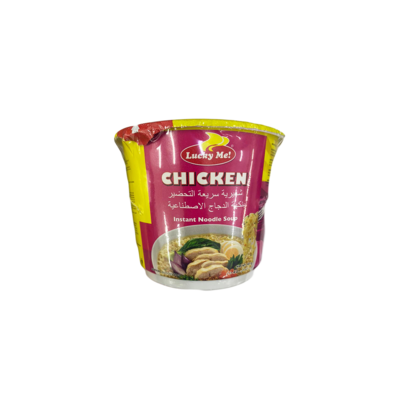 Lucky Me Chicken Instant Noodle Soup (Small)