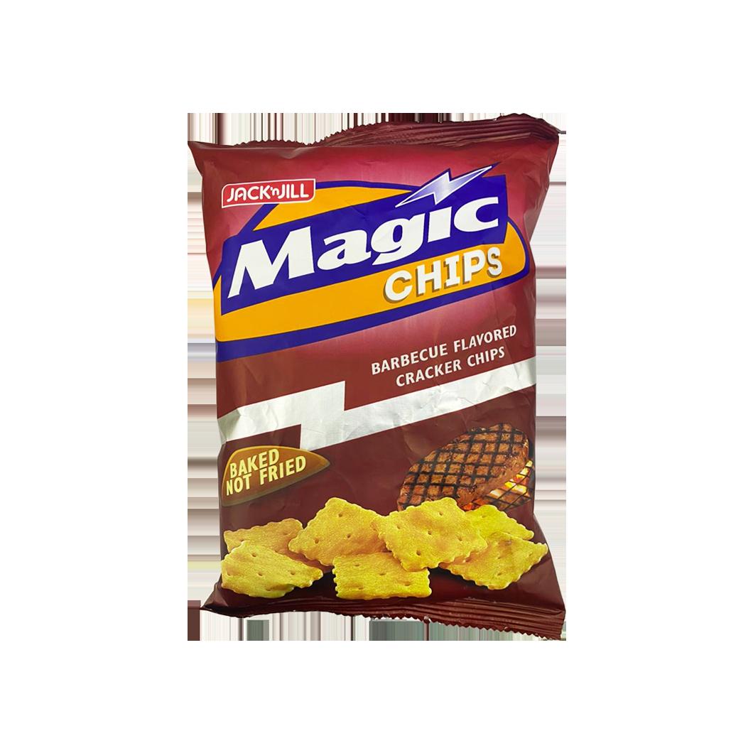 JNJ Magic Chips BBQ Cracker Chips (baked not fried) 100g